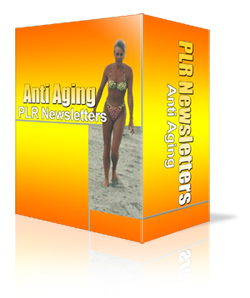 Ready Made Anti Aging PLR Newsletter Pack with 52 autoresponder messages
